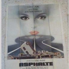 Cine: ANTIGUO CARTEL DE CINE.ASPHALTE.DENIS AMAR.GRAN TAMAÑO.. Lote 197195560