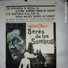 Cinéma: SERES DE LAS SOMBRAS - 110 X 75CM - LITOGRAFICO. Lote 197296942