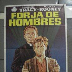Cine: CDO 701 FORJA DE HOMBRES SPENCER TRACY MICKEY ROONEY JANO POSTER ORIGINAL 70X100 ESPAÑOL R-72. Lote 197346840