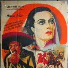 Cinema: ZG60D ENAMORADA MARIA FELIX PEDRO ARMENDARIZ POSTER ORIGINAL FRANCES 120X160 LITOGRAFIA. Lote 197361930