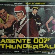 Cine: VH04D OPERACION TRUENO JAMES BOND 007 SEAN CONNERY SET 6 POSTERS ORIGINALES ITALIANOS 47X68. Lote 197370065