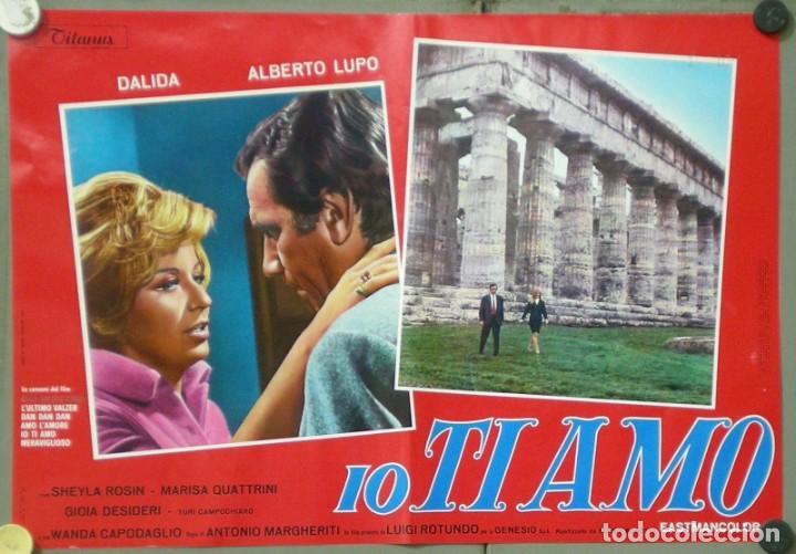 Cine: UX11D DALIDA IO TI AMO SET 12 ESPECTACULARES POSTERS ORIGINALES ITALIANOS 47X68 - Foto 2 - 197371833
