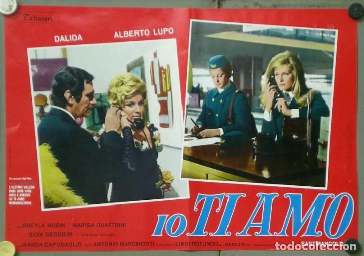 Cine: UX11D DALIDA IO TI AMO SET 12 ESPECTACULARES POSTERS ORIGINALES ITALIANOS 47X68 - Foto 3 - 197371833