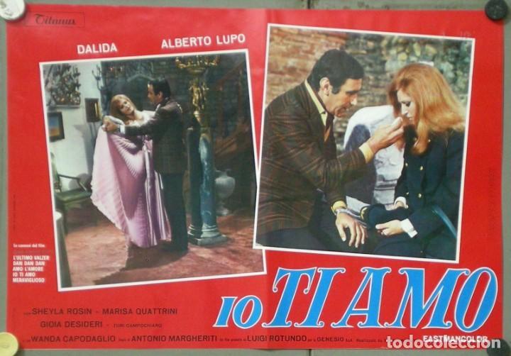 Cine: UX11D DALIDA IO TI AMO SET 12 ESPECTACULARES POSTERS ORIGINALES ITALIANOS 47X68 - Foto 6 - 197371833