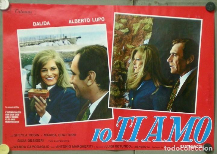 Cine: UX11D DALIDA IO TI AMO SET 12 ESPECTACULARES POSTERS ORIGINALES ITALIANOS 47X68 - Foto 7 - 197371833