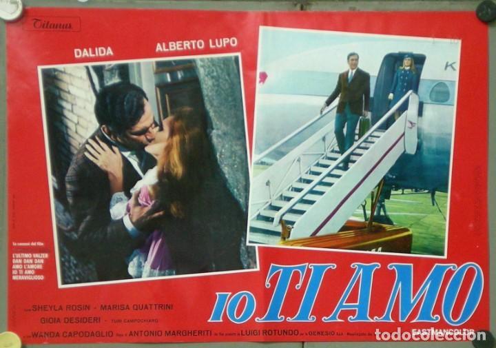 Cine: UX11D DALIDA IO TI AMO SET 12 ESPECTACULARES POSTERS ORIGINALES ITALIANOS 47X68 - Foto 9 - 197371833