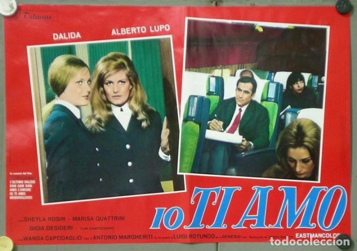 Cine: UX11D DALIDA IO TI AMO SET 12 ESPECTACULARES POSTERS ORIGINALES ITALIANOS 47X68 - Foto 10 - 197371833