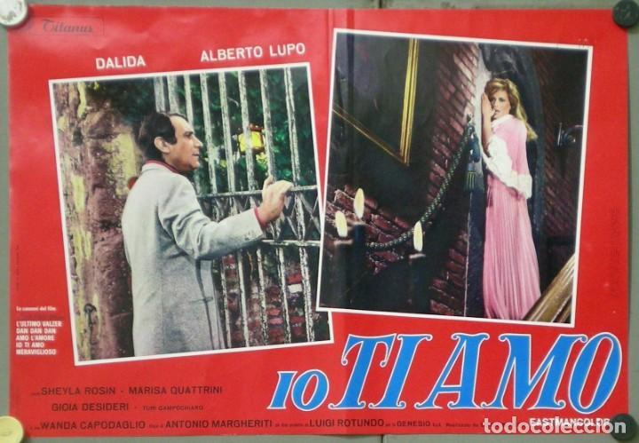 Cine: UX11D DALIDA IO TI AMO SET 12 ESPECTACULARES POSTERS ORIGINALES ITALIANOS 47X68 - Foto 12 - 197371833