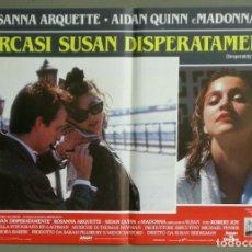 Cine: UX04D BUSCANDO A SUSAN DESESPERADAMENTE MADONNA SET 8 POSTERS ORIGINALES ITALIANOS 47X68. Lote 197422210