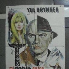 Cine: CDO 717 MI DOBLE EN LOS ALPES YUL BRYNNER POSTER ORIGINAL 70X100 ESTRENO. Lote 197424310