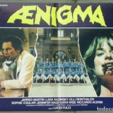 Cine: 2UX12D AENIGMA LUCIO FULCI GIALLO SET 4 POSTERS ORIG ITALIANOS 47X68. Lote 197431055