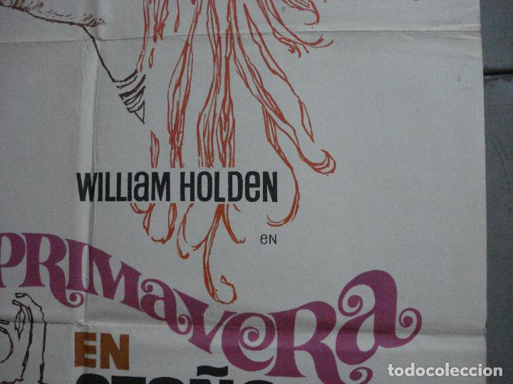 Cine: CDO 744 PRIMAVERA EN OTOÑO CLINT EASTWOOD WILLIAN HOLDEN POSTER ORIGINAL 70X100 ESTRENO - Foto 8 - 197432066