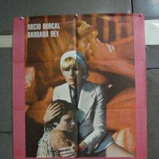 Cinema: CDO 762 ME SIENTO EXTRAÑA ROCIO DURCAL BARBARA REY LESBIAN POSTER ORIGINAL ESTRENO 70X100. Lote 197448753