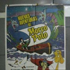 Cine: CDO 768 NUEVAS AVENTURAS DE MARCO POLO ANIMACION POSTER ORIGINAL 70X100 ESTRENO. Lote 197451702