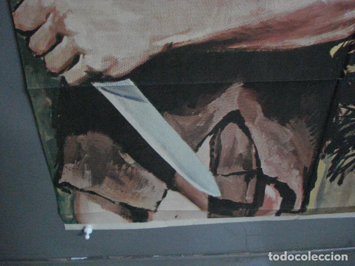 Cine: CDO 791 TARZAN EN PELIGRO LEX BARKER MCP POSTER ORIGINAL 70X100 ESPAÑOL R-73 - Foto 5 - 197547520