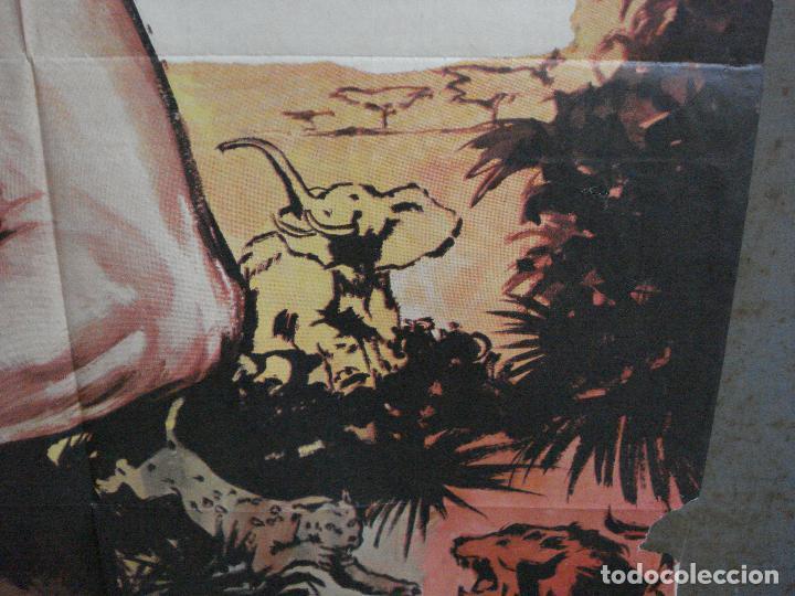 Cine: CDO 791 TARZAN EN PELIGRO LEX BARKER MCP POSTER ORIGINAL 70X100 ESPAÑOL R-73 - Foto 8 - 197547520