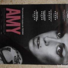 Cine: AMY, LA CHICA DETRÁS DEL NOMBRE. APROX 70X100 CARTEL ORIGINAL.. Lote 197817541