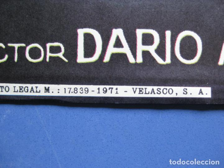 Cine: EL GATO DE 9 COLAS - DIRECTOR DARIO ARGENTO - 1971 - Foto 3 - 198191310