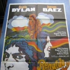 Cinema: RENALDO Y CLARA - BOB DYLAN Y JOAN BAEZ - 1979. Lote 198191846