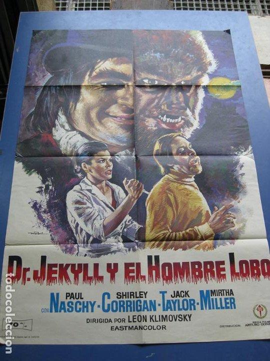Cine: Dr. JEKYLL Y EL HOMBRE LOBO - PAUL NASCHY - 1972 - Foto 2 - 198193232