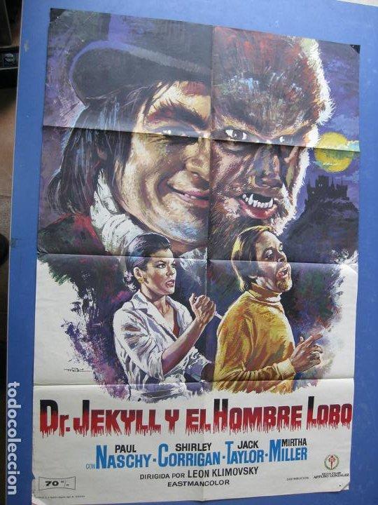 DR. JEKYLL Y EL HOMBRE LOBO - PAUL NASCHY - 1972 (Cine - Posters y Carteles - Terror)