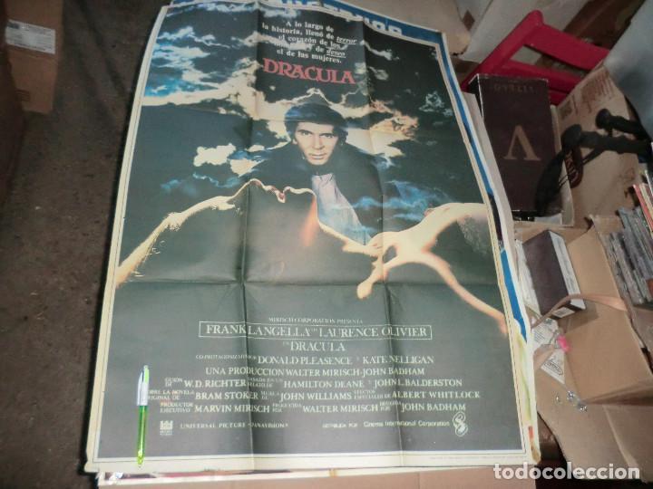 CARTEL DE CINE DRACULA ,DE TAMAÑO GRANDE (Cine - Posters y Carteles - Terror)
