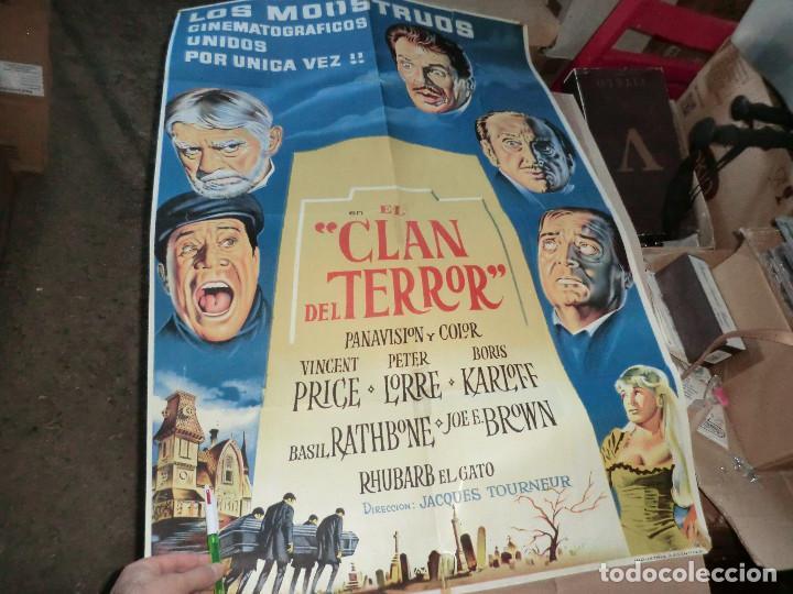EL CLAN DEL TERROR CARTEL DE CINE (Cine - Posters y Carteles - Terror)