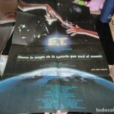 Cine: CARTEL DE E.T EL EXTRATERRESTREGRAN TAMAÑO. Lote 198195212