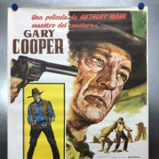 Cinéma: HOMBRE DEL OESTE - GARY COOPER - AÑO 1986. Lote 198195897