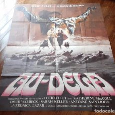 Cine: THE BEYOND (EL MÁS ALLÁ) LUCIO FULCI CARTEL GIGANTE ORIGINAL ESTRENO FRANCÉS 1983 NO REPRO RARO!. Lote 198197807