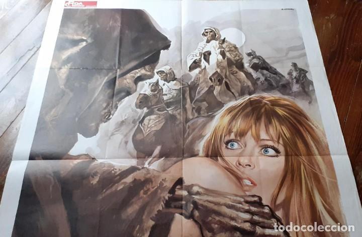 Cine: LA NOCHE DEL TERROR CIEGO (THE BLIND DEAD) AMANDO DE OSSORIO Cartel orig ITALIANO 1973 NO REPRO - Foto 2 - 198201165