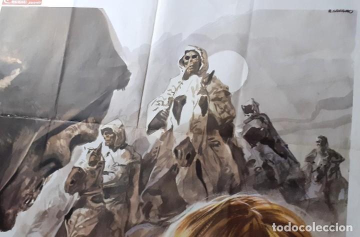 Cine: LA NOCHE DEL TERROR CIEGO (THE BLIND DEAD) AMANDO DE OSSORIO Cartel orig ITALIANO 1973 NO REPRO - Foto 4 - 198201165