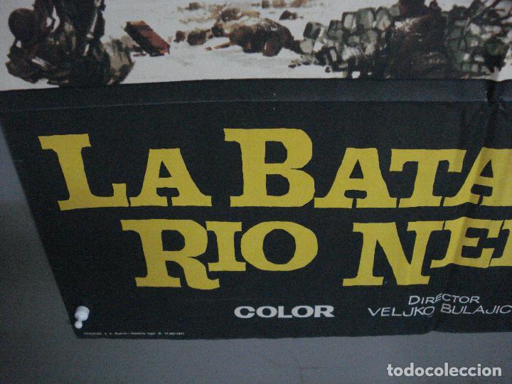 Cine: CDO 896 LA BATALLA DEL RIO NERETVA YUL BRYNNER CURD JURGENS JANO POSTER ORIGINAL 70X100 ESTRENO - Foto 5 - 198205711