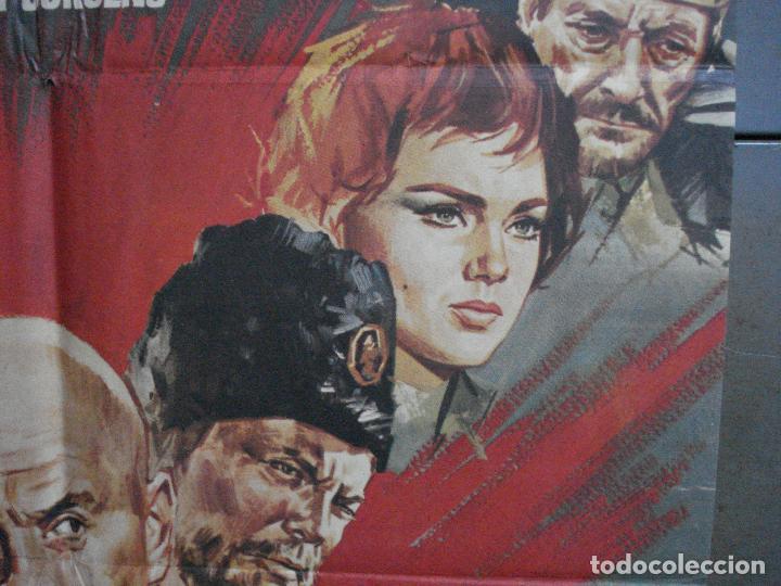 Cine: CDO 896 LA BATALLA DEL RIO NERETVA YUL BRYNNER CURD JURGENS JANO POSTER ORIGINAL 70X100 ESTRENO - Foto 7 - 198205711