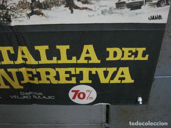 Cine: CDO 896 LA BATALLA DEL RIO NERETVA YUL BRYNNER CURD JURGENS JANO POSTER ORIGINAL 70X100 ESTRENO - Foto 9 - 198205711
