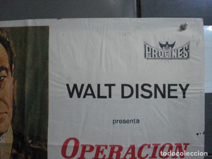 Cine: CDO 917 OPERACION COWBOY ROBERT TAYLOR WALT DISNEY POSTER ORIGINAL 70X100 ESTRENO - Foto 6 - 198212901