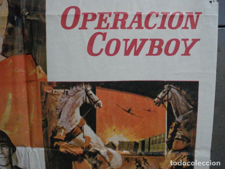 Cine: CDO 917 OPERACION COWBOY ROBERT TAYLOR WALT DISNEY POSTER ORIGINAL 70X100 ESTRENO - Foto 7 - 198212901