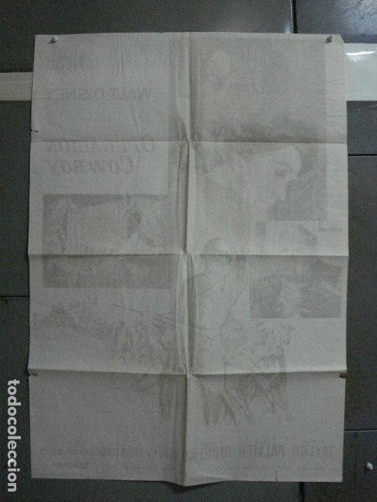 Cine: CDO 917 OPERACION COWBOY ROBERT TAYLOR WALT DISNEY POSTER ORIGINAL 70X100 ESTRENO - Foto 10 - 198212901