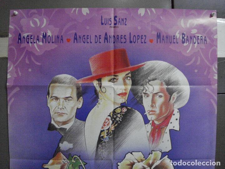 Cine: CDO 948 LAS COSAS DEL QUERER ANGELA MOLINA JAIME CHAVARRI POSTER ORIGINAL ESTRENO 70X100 A - Foto 2 - 278273388