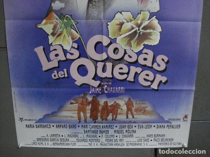 Cine: CDO 948 LAS COSAS DEL QUERER ANGELA MOLINA JAIME CHAVARRI POSTER ORIGINAL ESTRENO 70X100 A - Foto 3 - 278273388