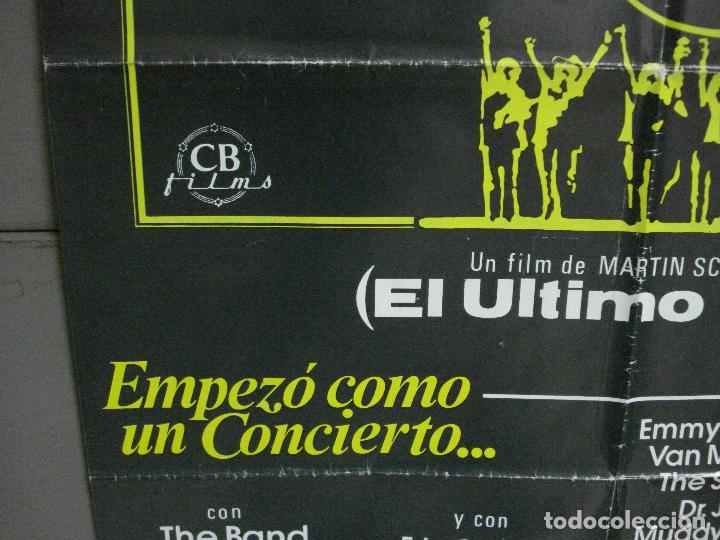 Cine: CDO 951 EL ULTIMO VALS BOB DYLAN THE BAND MARTIN SCORSESE RINGO STARR POSTER ORIG 70X100 ESTRENO - Foto 4 - 198322081