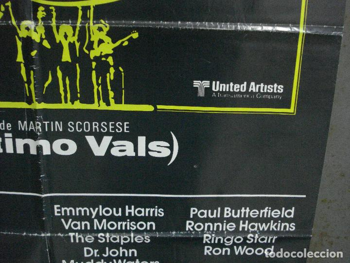 Cine: CDO 951 EL ULTIMO VALS BOB DYLAN THE BAND MARTIN SCORSESE RINGO STARR POSTER ORIG 70X100 ESTRENO - Foto 8 - 198322081