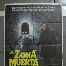 Cine: CDO 958 LA ZONA MUERTA DAVID CRONENBERG STEPHEN KING CHRISTOPHER WALKEN POSTER ORIG 70X100 ESTRENO. Lote 198322968