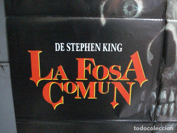 Cine: CDO 972 LA FOSA COMUN STEPHEN KING POSTER ORIGINAL 70X100 ESTRENO - Foto 4 - 198328955