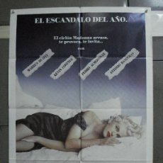 Cine: CDO 974 EN LA CAMA CON MADONNA KEVIN COSTNER ANTONIO BANDERAS ALMODOVAR POSTER ORIGIN 70X100 ESTRENO. Lote 198329693