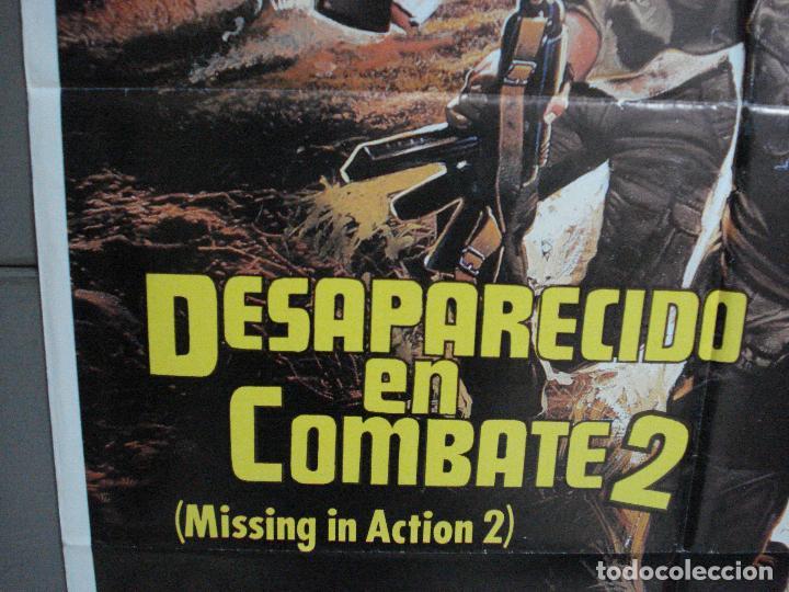 Cine: CDO 977 DESAPARECIDO EN COMBATE 2 CHCUK NORRIS POSTER ORIGINAL 70X100 ESTRENO - Foto 3 - 198330213