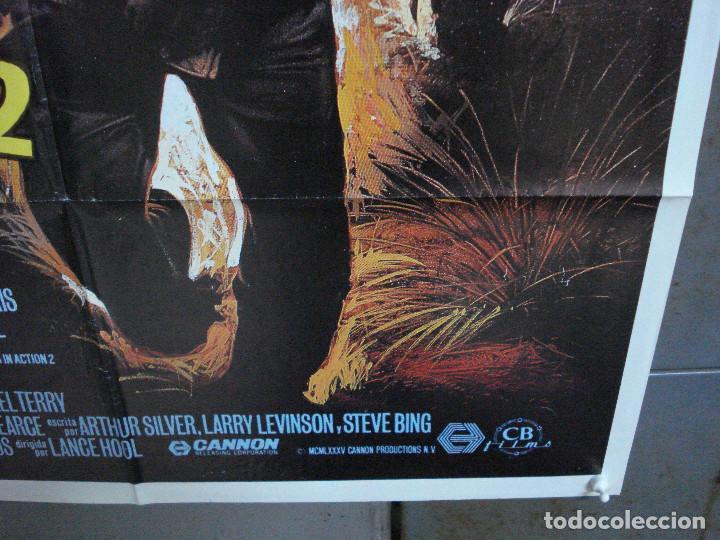 Cine: CDO 977 DESAPARECIDO EN COMBATE 2 CHCUK NORRIS POSTER ORIGINAL 70X100 ESTRENO - Foto 8 - 198330213