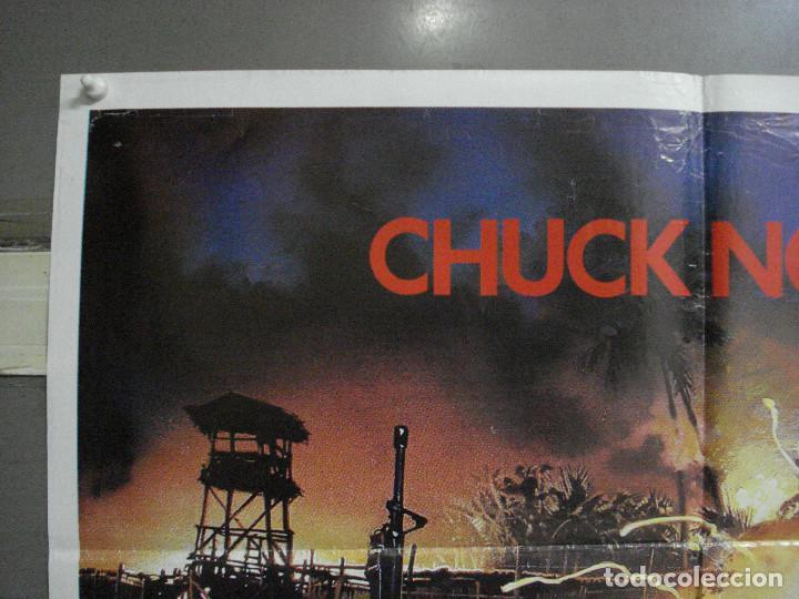 Cine: CDO 977 DESAPARECIDO EN COMBATE 2 CHCUK NORRIS POSTER ORIGINAL 70X100 ESTRENO - Foto 9 - 198330213