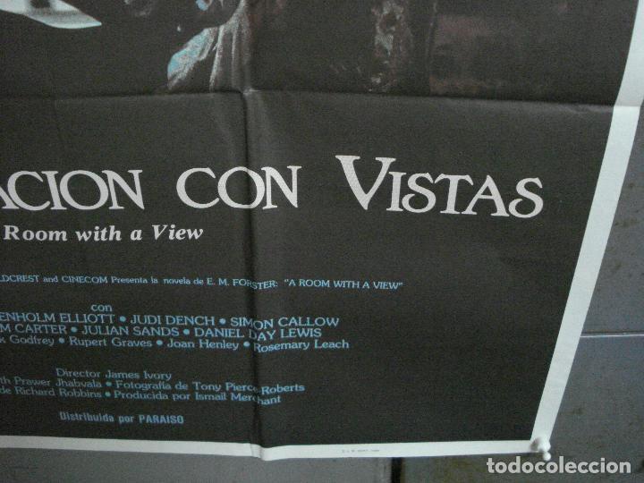 Cine: CDO 987 UNA HABITACION CON VISTAS JAMES IVORY HELENA BONHAM CARTER POSTER ORIGINAL 70X100 ESTRENO - Foto 9 - 198336658