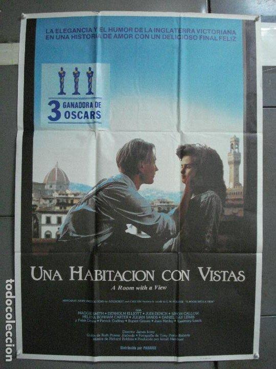 CDO 987 UNA HABITACION CON VISTAS JAMES IVORY HELENA BONHAM CARTER POSTER ORIGINAL 70X100 ESTRENO (Cine- Posters y Carteles - Drama)